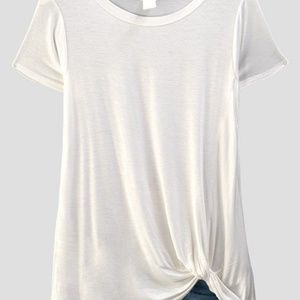 1e171ac4e85 Trend Notes Tops | Ladies Coral Color Modal Solid Short Sleeve Tunic ...